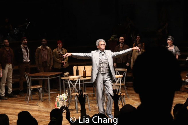 André De Shields and Company. Photo by Lia Chang