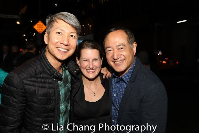 Jason Ma, Kristen Lee Rosenfeld and Alan Muraoka. Photo by Lia Chang