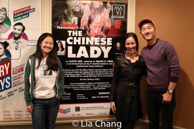 Shannon Tyo, Lia Chang and Daniel K. Isaac. Photo by Lia Chang