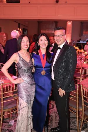 Lia Chang, Dr. H. M. Agnes Hsu-Tang and Andy Chen