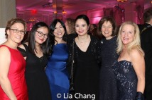 Anne Martin-Montgomery, Cassandra Montgomery, honoree Dr. H.M. Agnes Hsu-Tang, New York Philharmonic violinist Na Sun, Pam B. Schafler, Chair, New-York Historical Society, Patty White, Vice President, Walking Mountains. Photo by Lia Chang