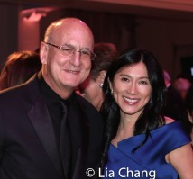 Peter Gelb, General Manager of the Metropolitan Opera, and honoree Dr. H.M. Agnes Hsu-Tang. Photo by Lia Chang