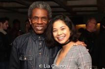 André De Shields and Eva Noblezada. Photo by Lia Chang