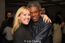 Heather Randall and André De Shields. Photo by Lia Chang