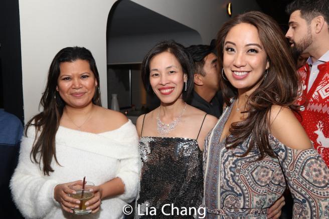 Liz Casasola, Lia Chang and Jaygee Macapugay. Photo by Garth Kravits