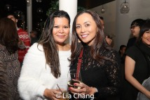 Liz Casasola and Ernabel Demillo. Photo by Lia Chang
