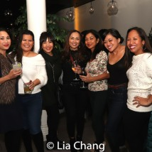 Liz Casasola, Emy Coligado, Ernabel Demillo, Monette Rivera, Renee Abulario and Joanne Javien. Photo by Lia Chang