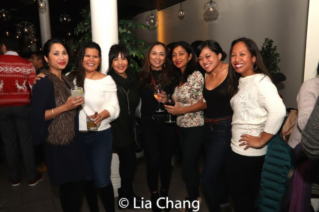 Liz Casasola, Emy Coligado, Ernabel Demillo, Monette Rivera, Renee Abulario and Joanne Javien. Photo by Lia Chang