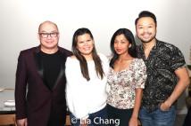 Broadway Barkada co-founders Brian Jose, Liz Casasola, Monette Rivera and Billy Bustamante. Photo by Lia Chang