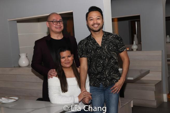 Broadway Barkada co-founders Brian Jose, Liz Casasola and Billy Bustamante. Photo by Lia Chang