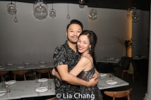 Billy Bustamante and Lia Chang. Photo by Brian Jose