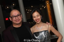 Brian Jose and Lia Chang. Photo by Billy Bustamante.
