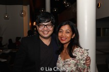 Marc Bunag and Monette Rivera. Photo by Lia Chang