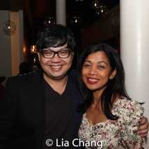 Marc Bunag and Monette Rivera. Photo by Lia Chang