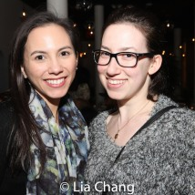 Michelle Cabinian and Melanie Nav. Photo by Lia Chang