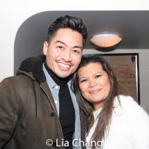Glen Llanes and Liz Casasola. Photo by Lia Chang