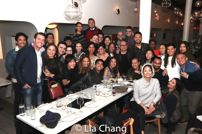 Broadway Barkada holiday party at The Bari in New York on December 11, 2018. Photo by Lia Chang
