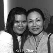 Liz Casasola and Lydia Gaston. Photo by Lia Chang