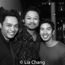 Romney Piamonte, Bill Bustamante and Devon Ilaw. Photo by Lia Chang