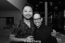 Billy Bustmante and Garth Kravits. Photo Lia Chang
