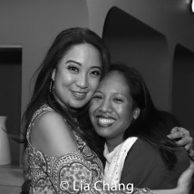 Jaygee Macapugay and Joanne Javien. Photo by Lia Chang