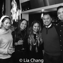 Ernabel Demillo, Cyn Casasola, Don Mike Mendoza and Jose Llana. Photo by Lia Chang