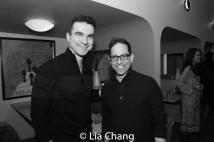 Dan Domingues and Garth Kravits. Photo by Lia Chang