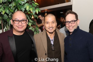 Brian Jose, Jon Jon Briones and Garth Kravits. photo by Lia Chang