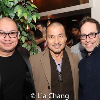 Brian Jose, Jon Jon Briones and Garth Kravits. photo by Lia Chang