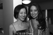 Lia Chang and Jaygee Macapugay. Photo by Garth Kravits