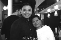 Jose Llana and Liz Casasola. Photo by Lia Chang