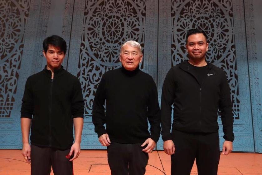 Telly Leung, Alvin Ing and Jose Llana. Photo by Lia Chang