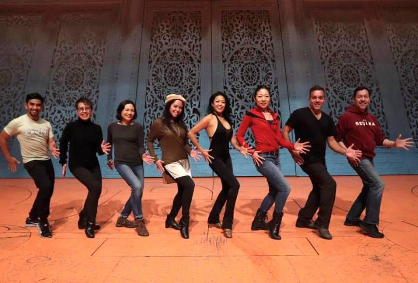 Legacy Robe recipients: Aaron J. Albano, Nina Zoie Lam, Lydia Gaston, Catherine Ricafort, J. Elaine Marcos, Lainie Sakakura, Alan Ariano, (not pictured: Baayork Lee) Rommy Sandhu. Photo by Lia Chang