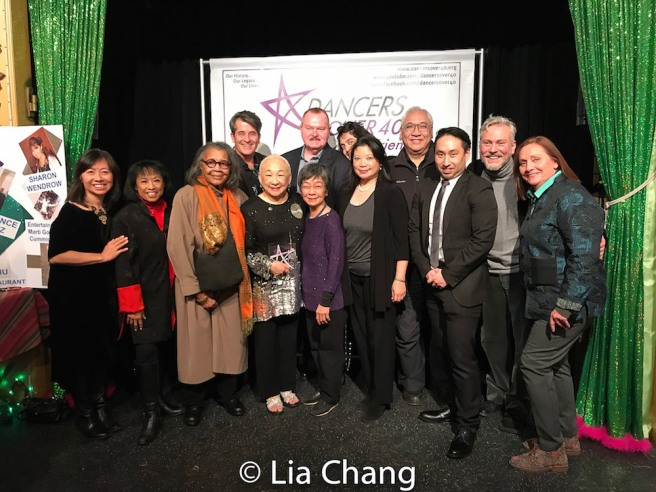 Amy Chin, Baayork Lee, Mary Alice, Luis Kraus, Lori Tan Chinn Eleanor Yung, Mel Young, Richard Young, Greg Everett, Ankeen McGuire, Michael Sean Lee, Michael DiGioia, Dale Soules. Photo by Lia Chang
