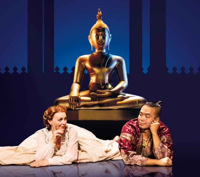 Annalene Beechey (Anna) and Jose Llana (The King) in THE KING AND I.