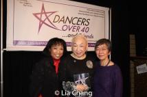 Baayork Lee, Lori Tan Chinn and Eleanor Yung. Photo by Lia Chang