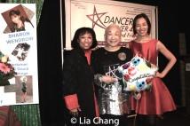 Baayork Lee, Lori Tan Chinn and Lia Chang. Photo by Garth Kravits