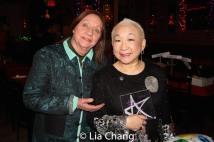 Dale Soules and Lori Tan Chinn. Photo by Lia Chang