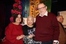 Dana Fleischman Lehrman, Lori Tan Chinn and Danny Lehrman. Photo by Lia Chang