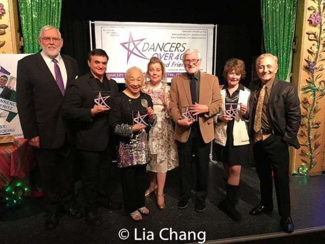 Jim Brochu, Lawrence Leritz, Lori Tan Chinn, Virginia Seidel, Larry Ross, Sharon Wendrow and John Sefakis. Photo by Lia Chang