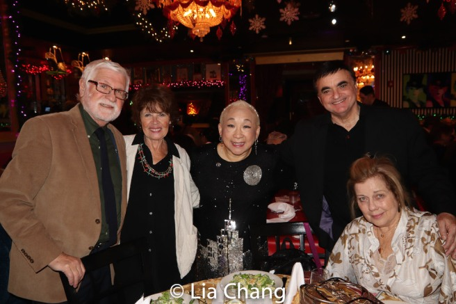 Honorees Larry Ross, Sharon Wendrow, Lori Tan Chinn, Lawrence Leritz and Virginia Seidel. Photo by Lia Chang
