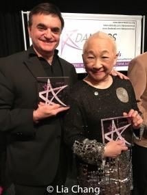 Lawrence Leritz and Lori Tan Chinn. Photo by Lia Chang