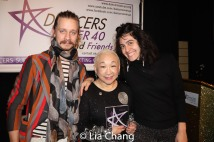 Will Spartalis, Lori Tan Chinn and Ankeen McGuire. Photo by Lia Chang