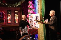 Lori Tan Chinn and John Sefakis. Photo by Lia Chang