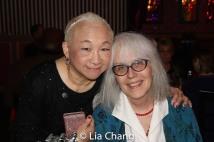 Lori Tan Chinn and Laura Castro. Photo by Lia Chang