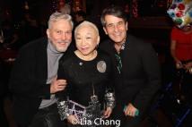 MIchael DiGioia, Lori Tan Chinn and Luis Kraus. Photo by Lia Chang