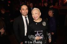 Michael Sean Lee and Lori Tan Chinn. Photo by Lia Chang