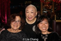 Marni Mueller, Lori Tan Chinn and Amy Chin. Photo by Lia Chang