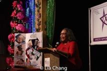 Mary Alice, speaker ForLori Tan Chinn. Photo by Lia Chang