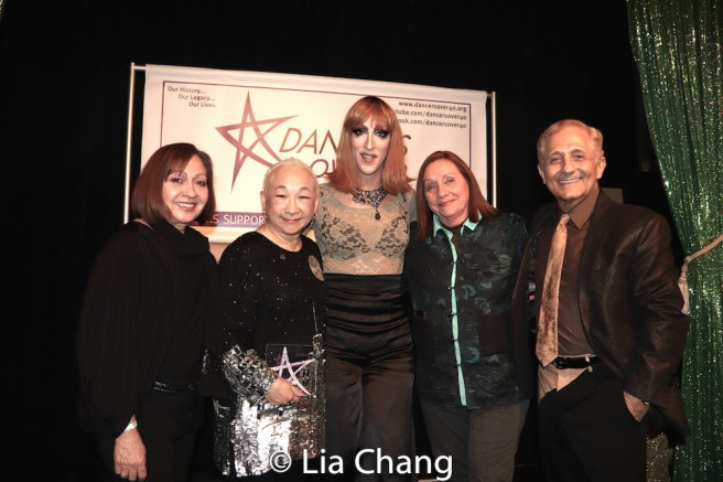 Tamara Torres, Lori Tan Chinn, Marti Gould Cummings II, Dale Soules, John Sefakis. Photo by Lia Chang